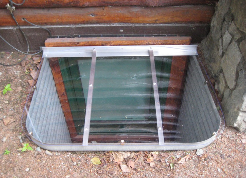 14 Basement Window Well Cover Ideas - Your House Needs This
