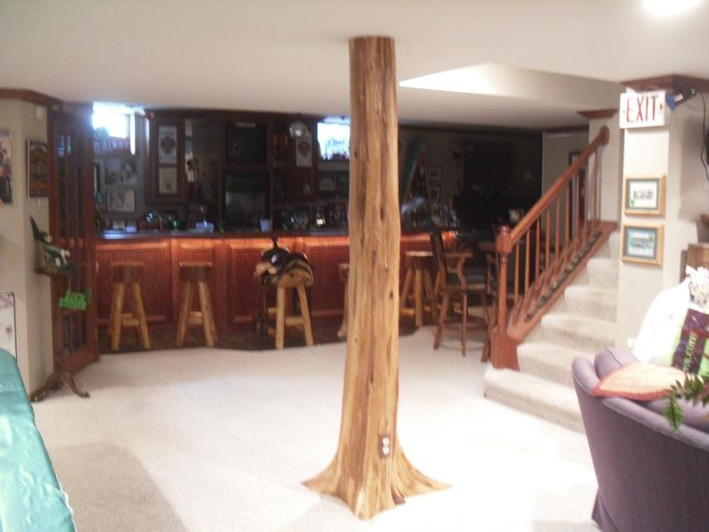 17 Basement Pole Cover Ideas Your, How To Make A Basement Pole Cover