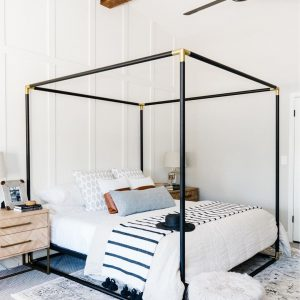 Beautiful Bed with Frame for Bedroom