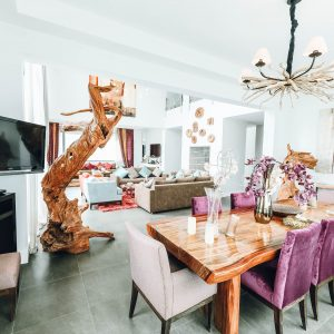 Bright Colors Dining Room