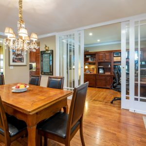 Big Wooden Table for Dining Room