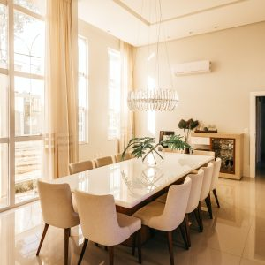 Bright and Spacious Dining Room